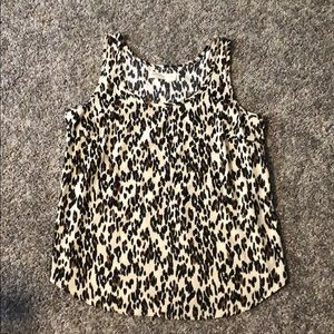 Leopard shell tank top